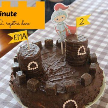Last minute torta za 2. rojstni dan