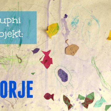 Skupni projekt Morje