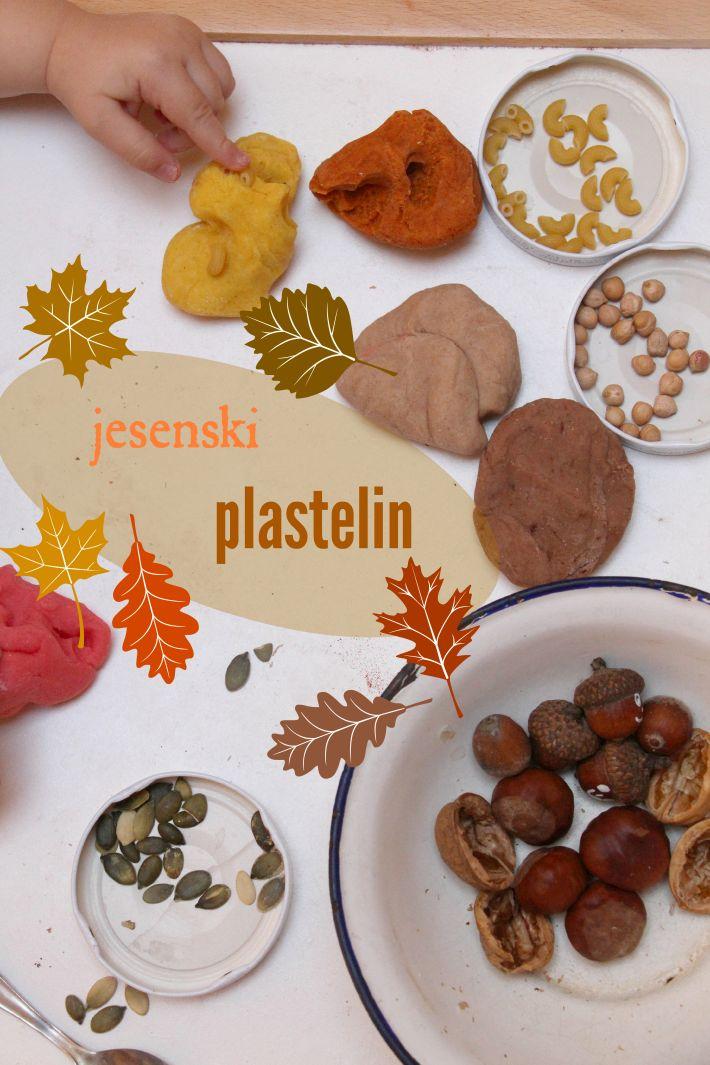 Jesenski plastelin: kiparsko oblikovanje in obarvanje plastelina ali spoznavanje s slikarskimi in kiparskimi prvinami