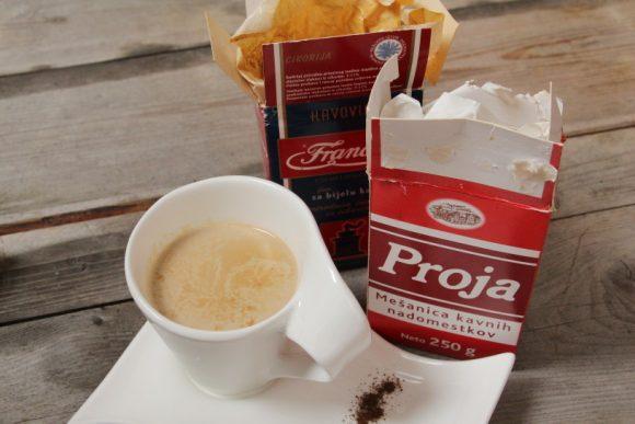 Doma pripravljena bela kava