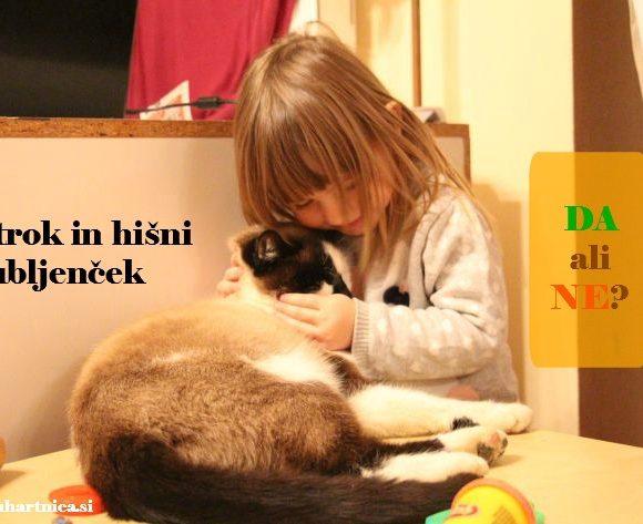 Otrok in hišni ljubljenček: da ali ne?