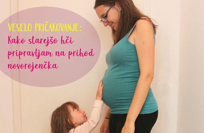 Veselo pričakovanje: kako starejšo hči pripravljam na prihod novorojenčka