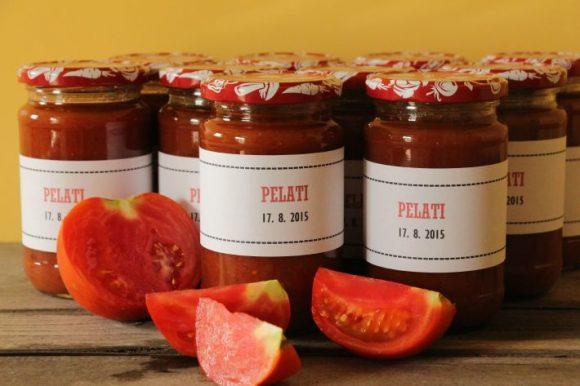 Domača paradižnikova omaka ali pelati