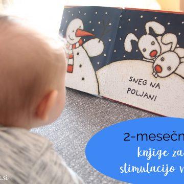 2-mesečnik: knjige za stimulacijo vida