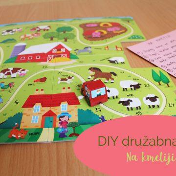 DIY družabna igra Na kmetiji