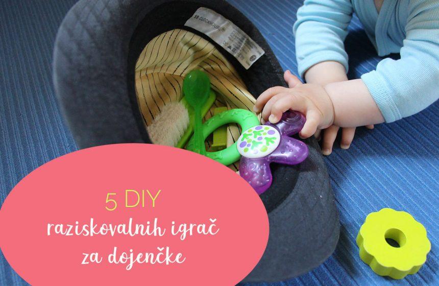 5 DIY raziskovalnih igrač za dojenčke