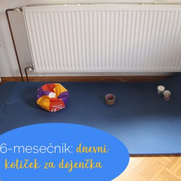 6-mesečnik: dnevni kotiček za dojenčka